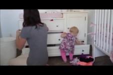 Ich helf der Mama oder aufräumen im Rückwärtsgang