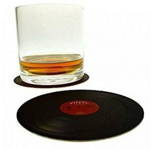 Vinyl-Schallplatten-Untersetzer!