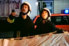 Feuerwehreinsatz beim Fussball-Fan
