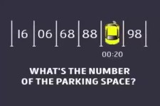 Welcher Nummer hat der Parkplatz