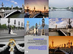 III. Alexander Brücke in Paris