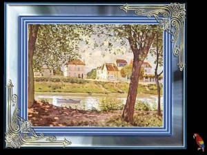 Gemaelde von Alfred Sisley 7