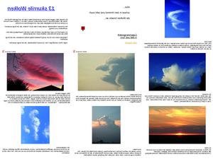 Skurrile Wolken