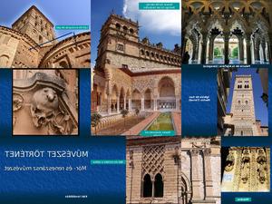 Maurische und renaissance Baukunst
