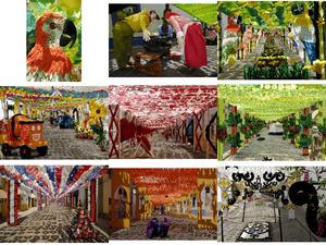 Papierfest in Portugal