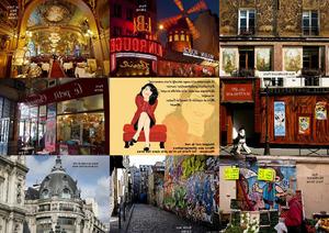 Paris balade dans les rues - Spaziergang durch die Strassen
