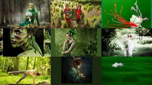 The colour green no. 05 - Die Farbe grün 05