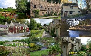 Bibury England - Ein bezaubernder Ort in England