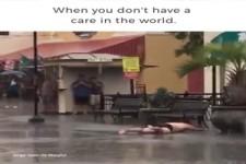 Spaß im Regen