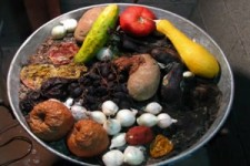 Obst- und Gemüse-Zersetzung