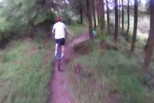 Was man beim Mountainbiken alles sieht