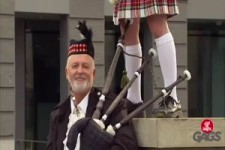 Bagpipes - Scotland The Brave