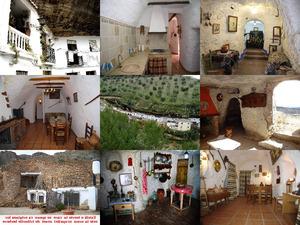 Zigeunerviertel in Granada, Spanien