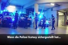 Rockende Polizei