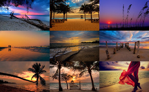 Sunset Beach - Sonnenuntergang am Strand