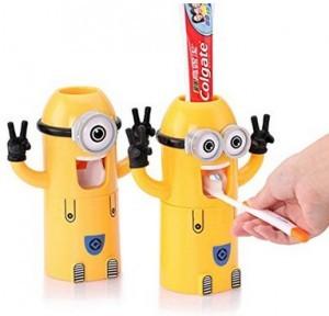 Minions-Zahnpasta-Spender!