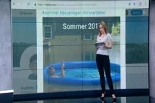 Schlechtes Wetter in Deutschland