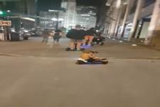 Hoverboard Familienausflug