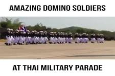 Thai Militär Parade