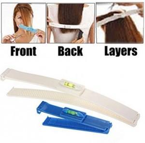 Clip zum Haare schneiden mit Wasserwaage!