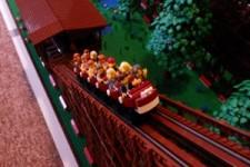 Coole Lego-Achterbahn