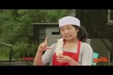 Girl Eats Top of Ice Cream Off