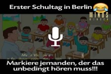 Erster Schultag in Berlin