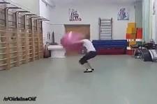 Die Ball-Frau