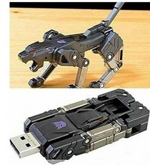 USB-Stick im Transformers-Design!