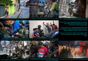 Drug Gang Violence in Rio - Drug Gang Gewalt in Rio