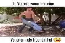 wenn die Freundin eine Vegetarierin ist