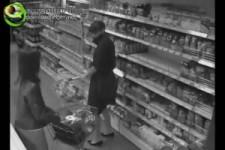 Kampf der Hausfrauen im Supermarkt