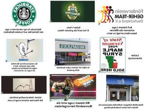 Zweideutige Logos neu