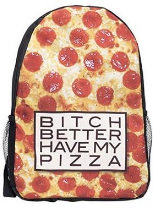 Pizza-Rucksack!