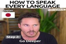 So sprichst du jede Sprache