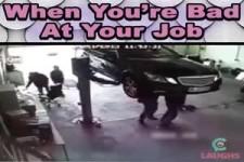 Wenn du in deinem Job schlecht bist!