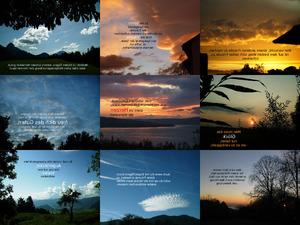 Gedanken zum Himmel geschickt mit Musik -2-