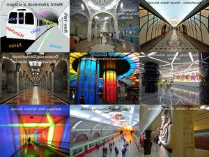 Metrostationen aller Welt