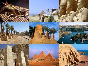 Rundgang in Ägypten