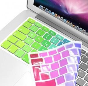 Bunter Kratzschutz für Tastatur!
