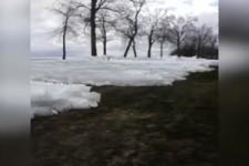 Eisiger Tsunami in Minnesota
