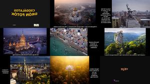 Herrliche Drohne Fotos