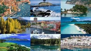 Meere und Seen