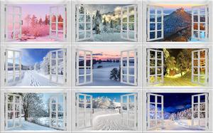 Winter Window 2 - Winter Fenster 2