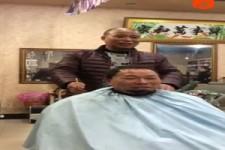 So kann man auch Haare schneiden