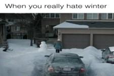 Scheiss Winter