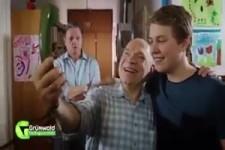 Selfie mit Opa