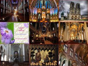 Notre Dame Interior Paris