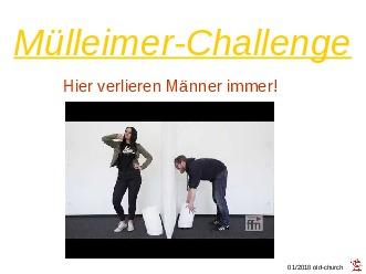 Mülleimer-Challenge