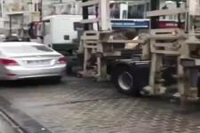 Genialer Abschleppwagen